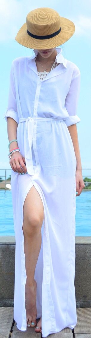Holiday in style with this maxi summer dress