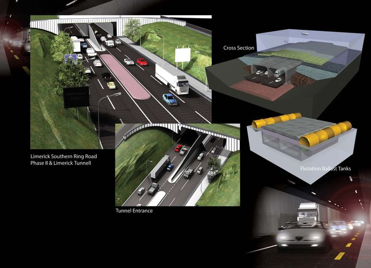 Diagraphic for NRA's Limerick Tunnel Public Information Event.