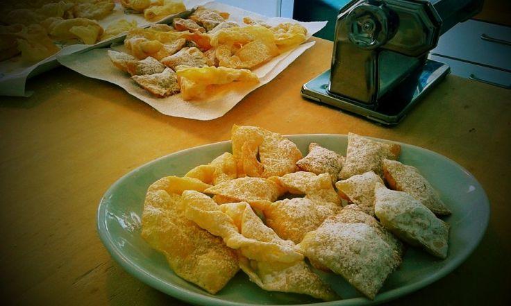 I turtlitt, dolci del carnevale di #Piacenza