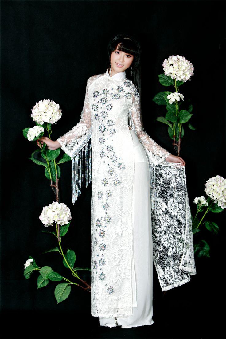 92 best Ao dai, ao kieu VN images on Pinterest | Ao dai, Vietnamese ...