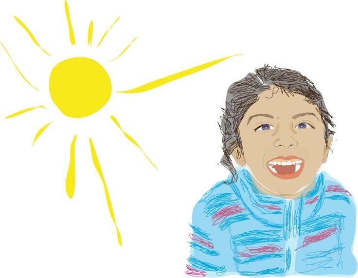 Esta sonrisa es la culpable de muchos días soleados