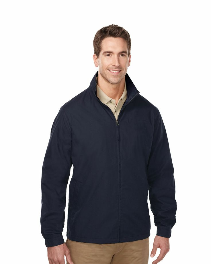 Lightweight jackets windproof/water resistant shell (65% polyester/35% cotton)  Style#: Tri mountain J5308 #Jacket #men #Trimountain #Waterproof #Windproof #lightweight