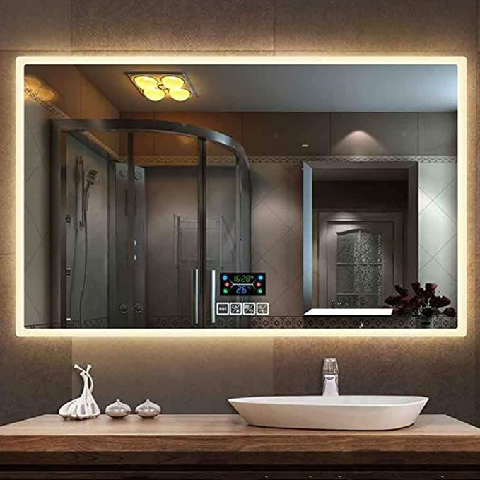 33++ Wall mounted bathroom cabinet with mirror and lights diy