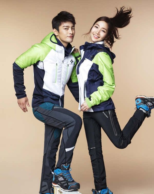 140830 - Seo In Guk & Park Min Young, Isenberg photoshoot