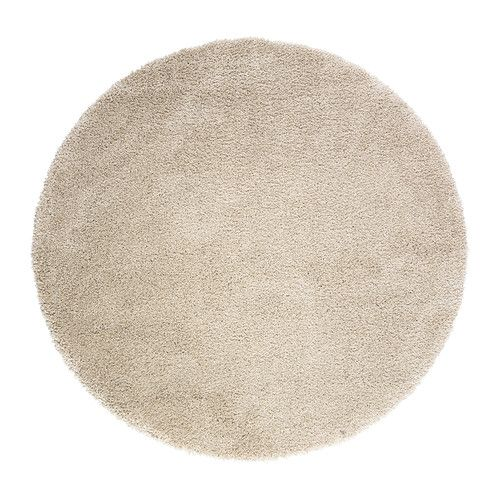 IKEA - ÅDUM, Rug, high pile, 130 cm, , The dense, thick pile dampens sound and provides a soft surface to walk on.Durable, stain resistant and easy to care for since the rug is made of synthetic fibres.