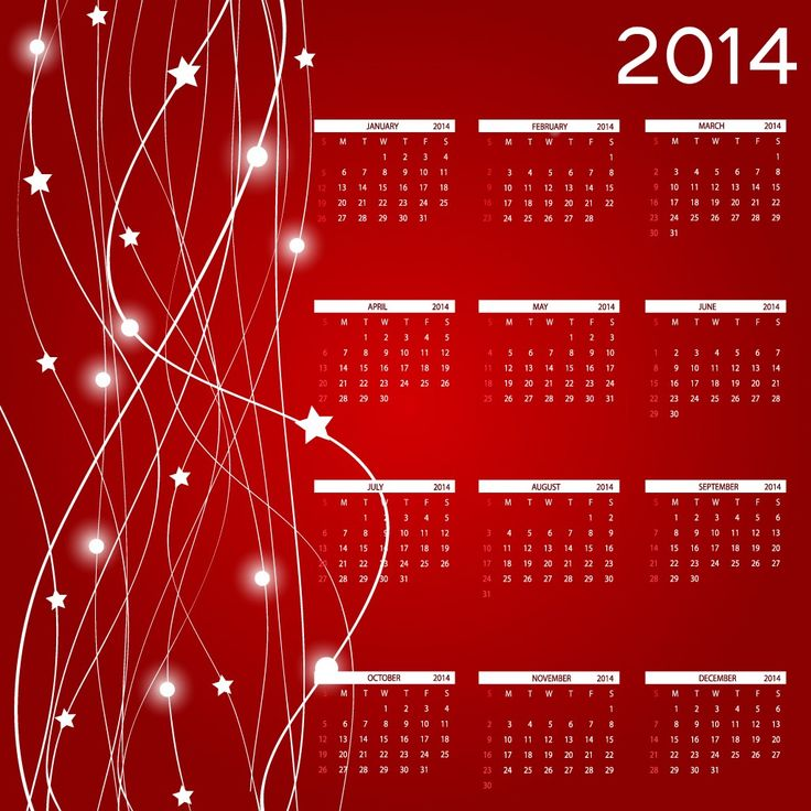 30 Fresh and Unique Calendar Designs for 2014