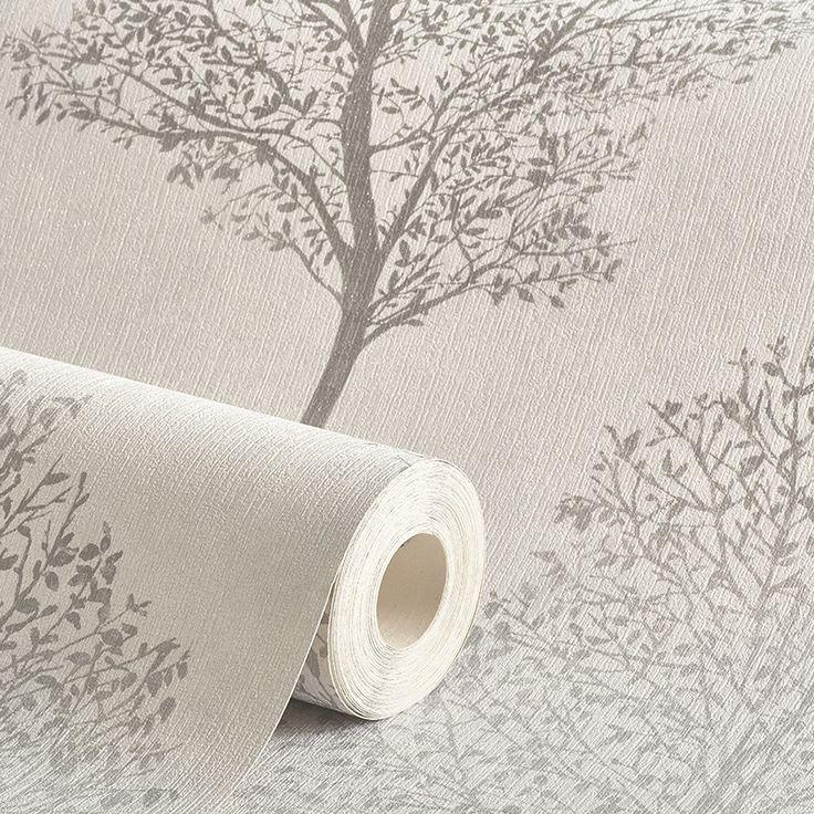 Arthouse Wonderland Tree Mono Grey Glitter Wallpaper - http://godecorating.co.uk/arthouse-wonderland-tree-mono-grey-glitter-wallpaper/