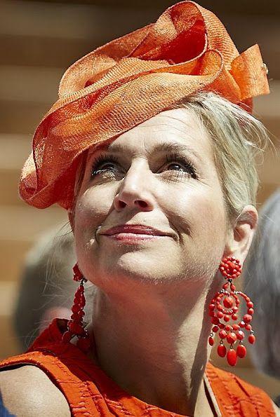 Queen Maxima of The Netherlands attends the official opening of the JKZ Juliana Kinderziekenhuis (Juliana Children's Hospital) on June 12, 2015 in The Hague, Netherlands.