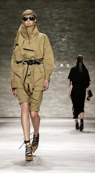 New Yorker Modewoche: Edle Streetwear von Nicholas K. (Bild: epa)