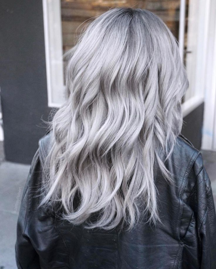 Icy Silver Hair Transformation Is the 2019's Coolest Trend in 2019 | hair | Hair, Hair Color ...