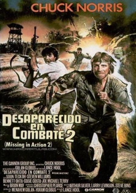 Missing in Action 2 Spanish Movie Poster Missing in Action - missing in action poster