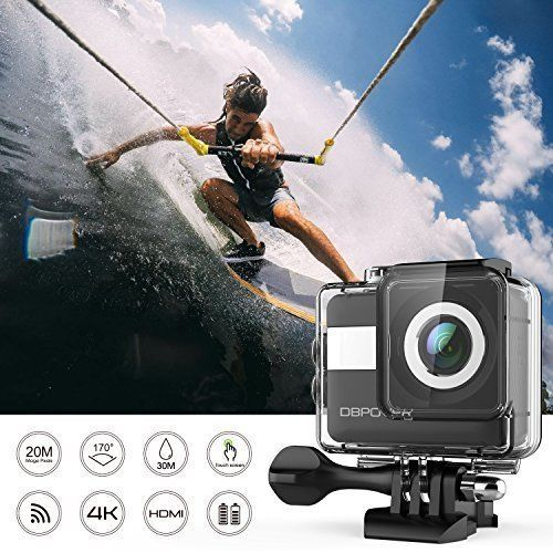 Action Camera 4K WiFi Touchscreen 20MP Wide Angle Waterproof Sports 2 Batt NEW  #ActionCamera4KWiFiTouchscreen20MP
