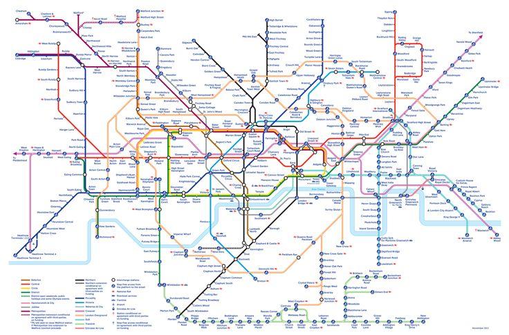map of london underground 2020