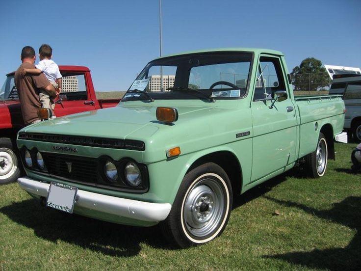 1971 Toyota Hilux #toyota #truck #pickup #vintage #retro #throwback #hilux #cars #auto #stampedetoyota #yyc   http://www.stampedetoyota.com