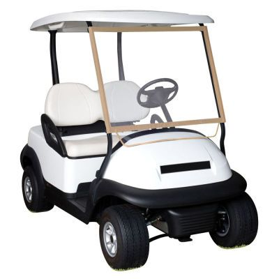 "Classic Accessories Deluxe Portable Golf Cart Windshield: ""Deluxe Portable Golf Cart Windshield Stores in a… #Golf #GolfClubs #GolfEquipment"