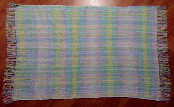 $50.000 COP Cobija para bebé en telar horizontal