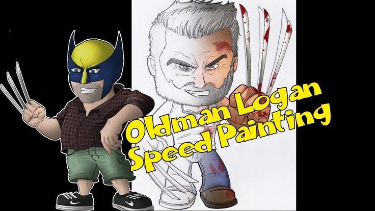 LOGAN -  Speed Painting