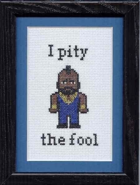 Who doesn't need a little Mr. T? Hubby got this for the nursery. It keeps diaper changing time full of laughs.