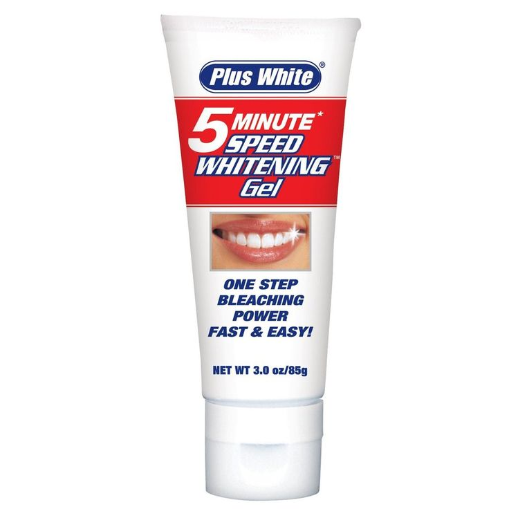 Plus White 5 Minute Teeth Whitening Gel
