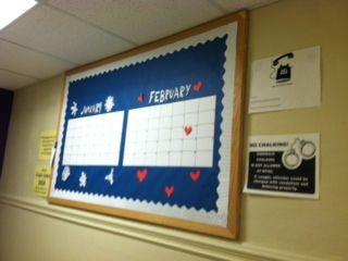 Calendar Bulletin Board - MTSU January 2014