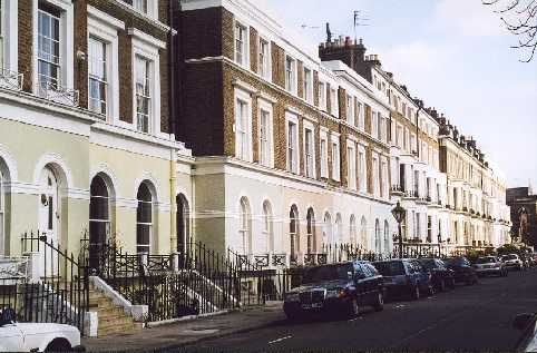 As Time Goes By Locations - Jeans House in Holland Park
