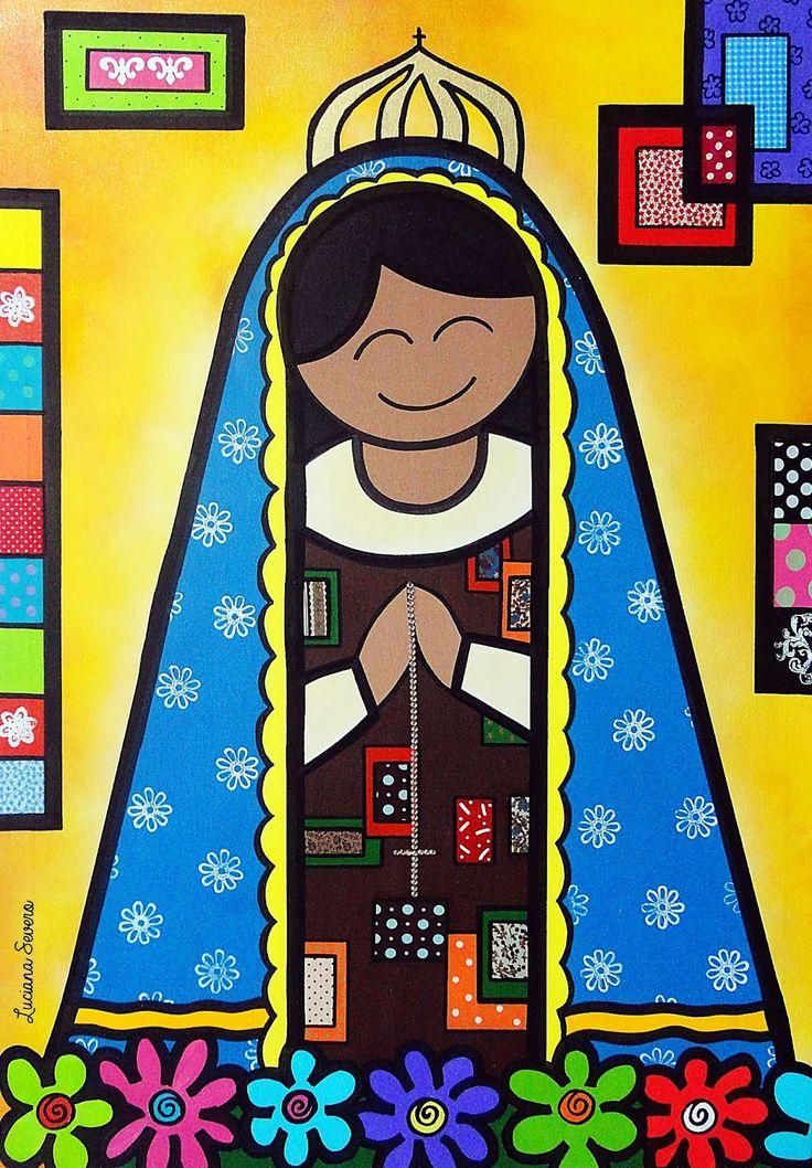 Salve Nossa Senhora Aparecida, padroeira do Brasil.