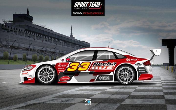 2014 Sport Team Fiat L 237 Nea Top Race Series Martin