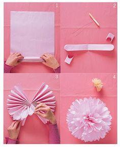 how to make pompoms