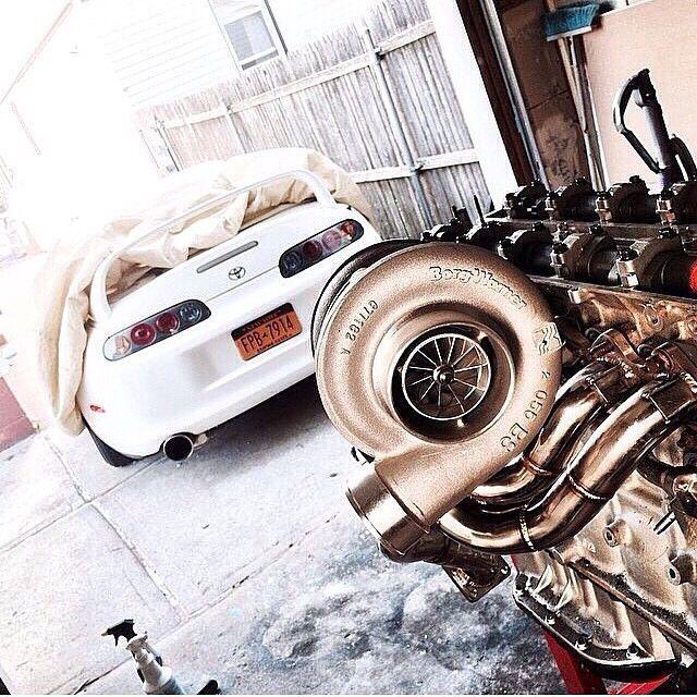 Toyota Supra (Instagram @modifiedsociety)
