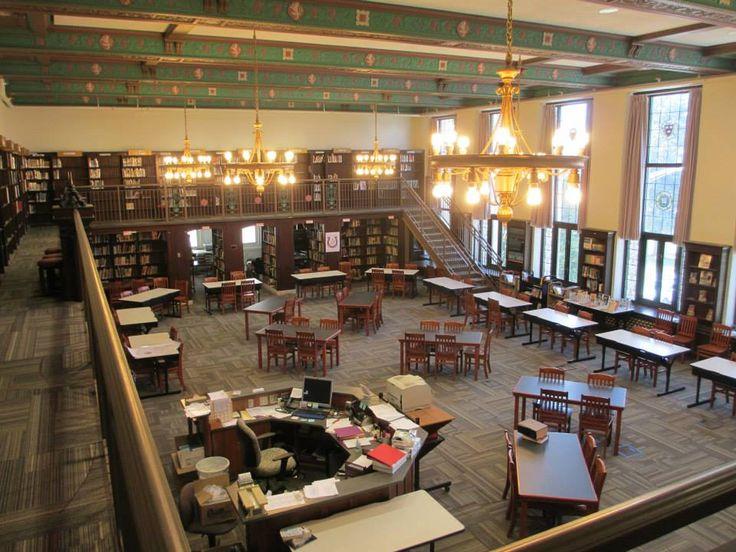 Western Hills High School library | Cincy - Western Hills ...