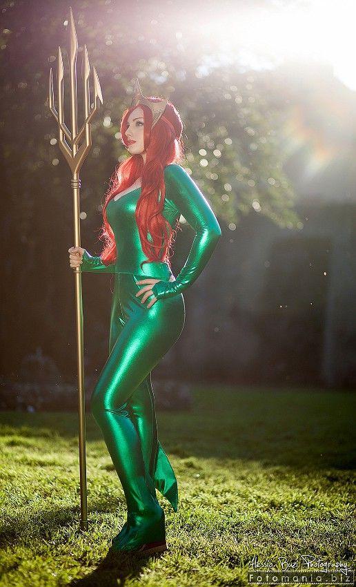 Mera Dc - Julia James cosplay(Giulia Berardi) Aquaman Cosplay Photo - WorldCosplay