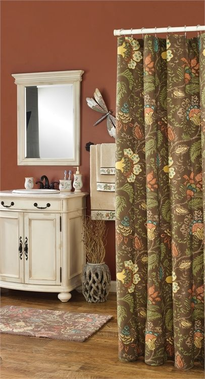 269 Best Images About Shower Curtains Amp Bath Decor On