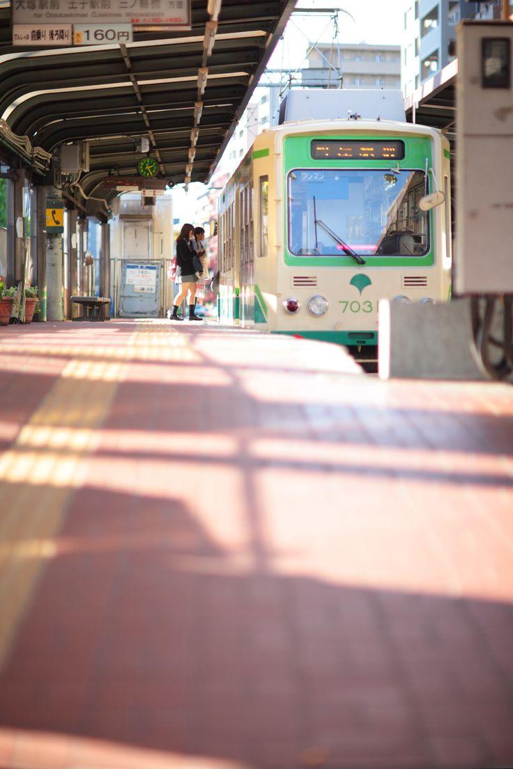 荒川線 - Arakawa streetcar, Tokyo