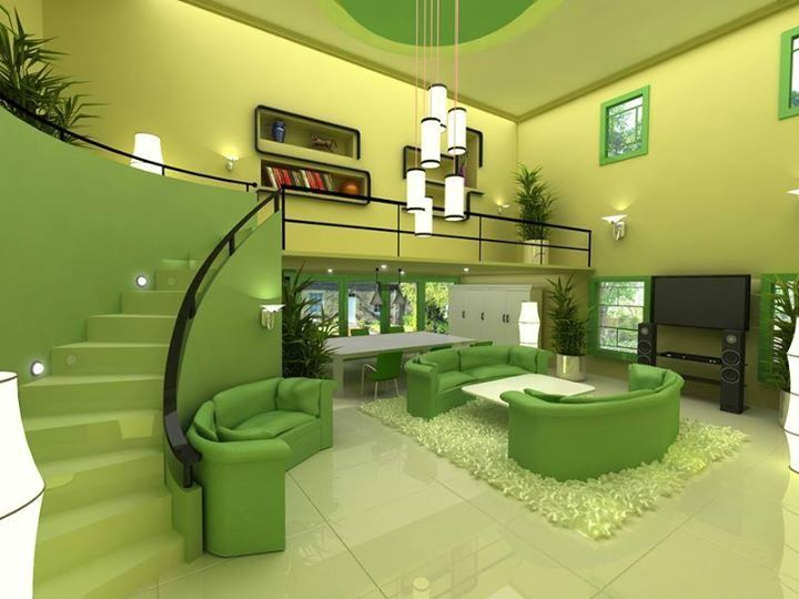 2737 best interiors in green/ zielony we wnętrzach images on ...