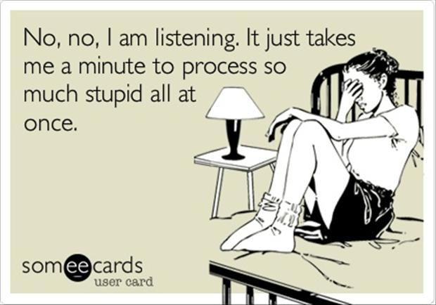 Stupid overload.