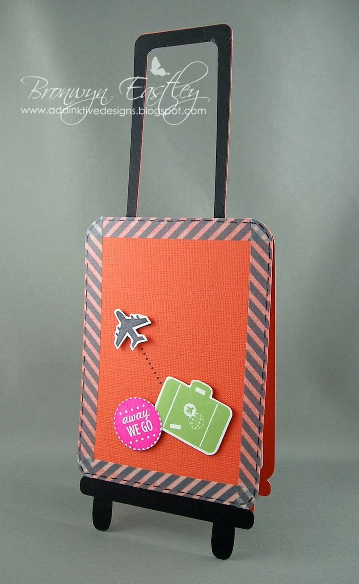 Scrapbook ideas goodbye - A Farewell Card Very Cute