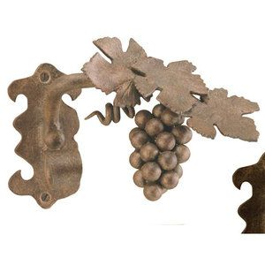 Menagerie Casa Artistica Grape Vine Curtain Holdbacks