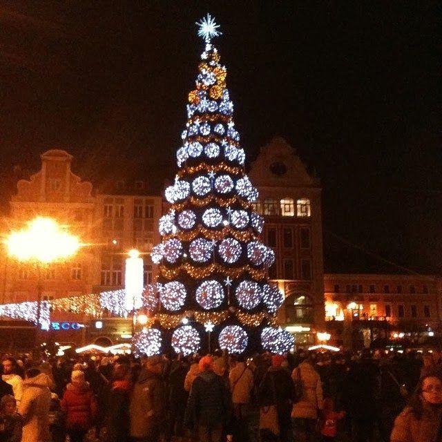 #Xmas Tree in #Breslau #Wroclaw