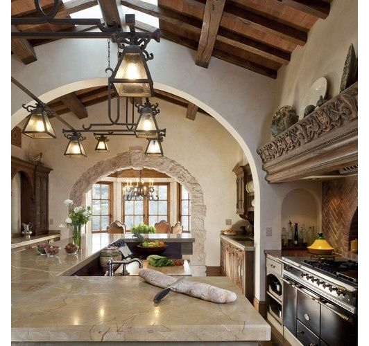 Mediterranean Kitchen Designs: 1000+ Images About Spanish Style Kitchens On Pinterest