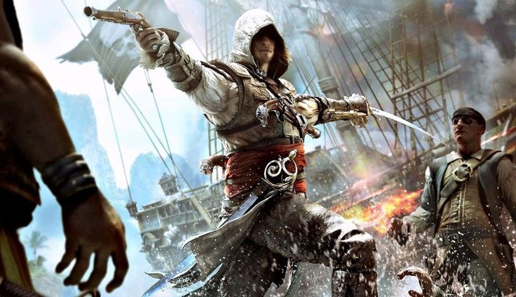 Assassin´s Creed IV - Black Flag.