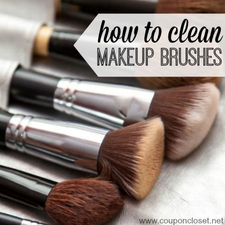 Learn How to clean Makeup Brushes fast and effectively. Here are some easy tips to clean makeup brushes without hurting or destroying them.
