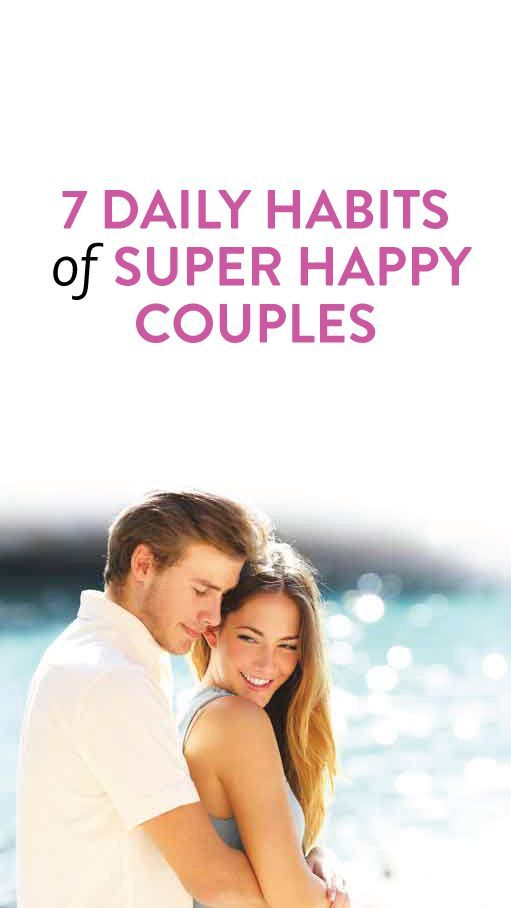 Habits Of Happy, Successful Couples