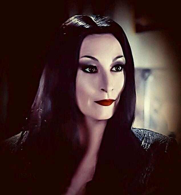 ~ † Anjelica Huston † As Morticia Addams In The Addams Family 1991 & 1993 ~