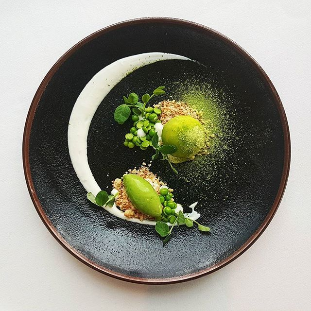 Chilled giant pea soup with coconut and wasabi. One of the starters @ Peninsula restaurant o2. #chefsroll #chefsofinstagram #foodporn #picoftheday #theartofplating #instafood #foodphotography #foodplay #chefstalk #gastroart #foodstagram #rollwithus #expertfoods #thestaffcanteen #gastronogram #foodstarz_official #igers #instahub #gourmetartistry #gourmetart #gastroart #theartofplating #instafood #foodphotography #chefsplateform