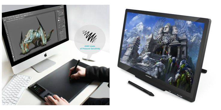 Deal of the Day: Save up to 30% off Drawing Tablet and Monitor for 7/28/2017 only!   Huion is a nationally supported and promoted high-tech enterprise which has the core technology and ability to research and develop independently. Huion tablets are designed to inspire people's creativity with our patented pen so that you can naturally draw as you would with the real pen and paper. Huion always drives innovation forward to provide an excellent experience for its users.