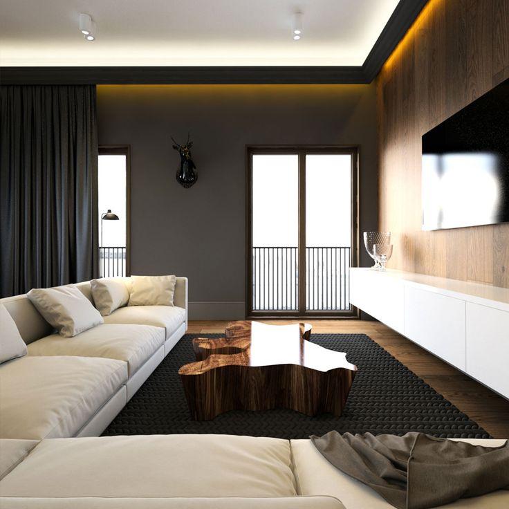 Die besten 25+ Holzwand tv Ideen auf Pinterest Holzwand hinter - steinwand wohnzimmer schwarz