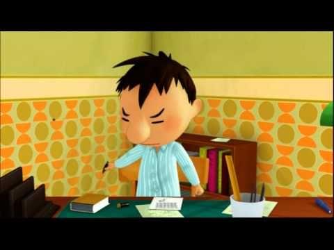 Le Petit Nicolas - Je suis malade (08)  Cute!