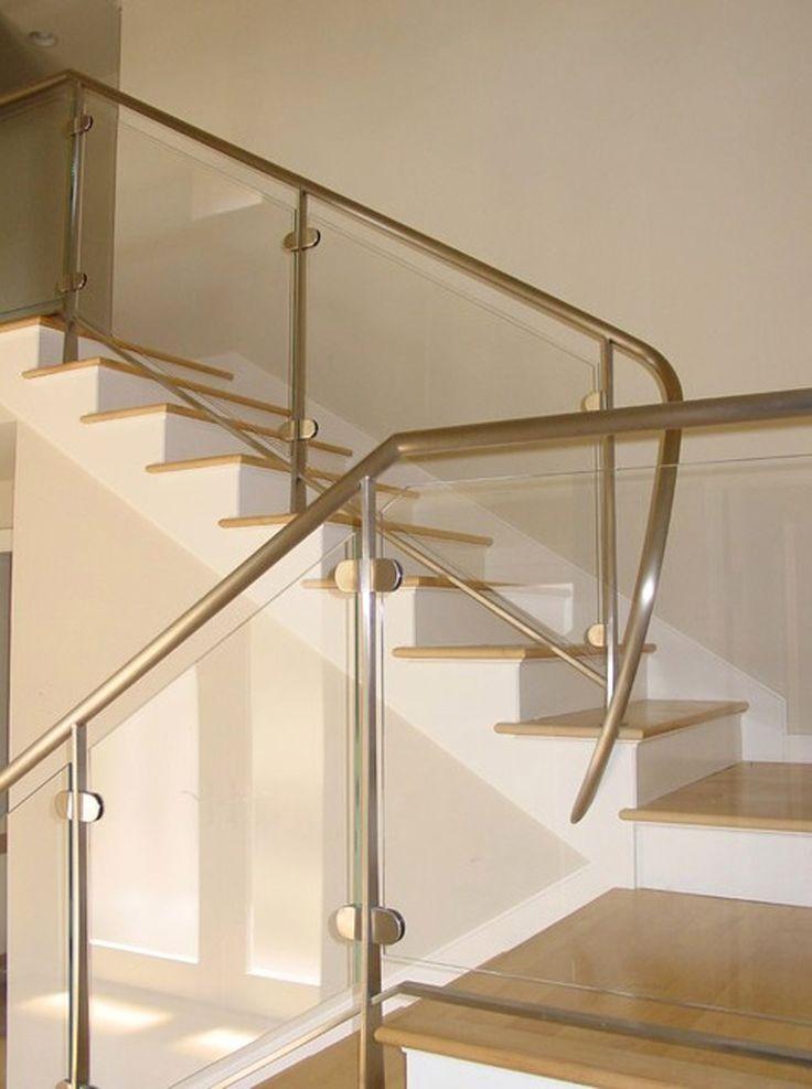 Los Barandales de Vidrio Templado son altamente decortivos, funcionales y de gran calidad. #barandales #vidrio #Templado #decoracion #interiorismo #arquitectura