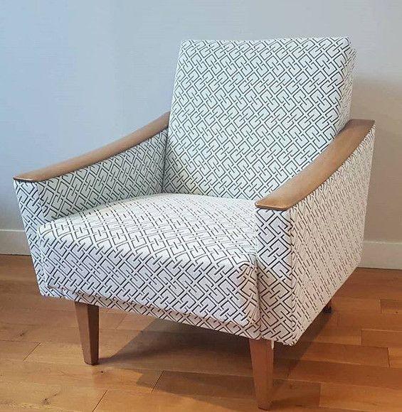 fauteuil art deco tissus ameublement