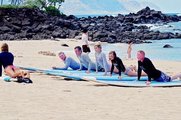 Learn To Surf Hawaii With Four Surfing Tips Plus One #hawaii #surf #travel #family #surfingtips